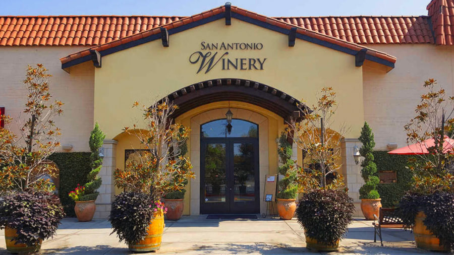 Entryway to Los Angeles Winery